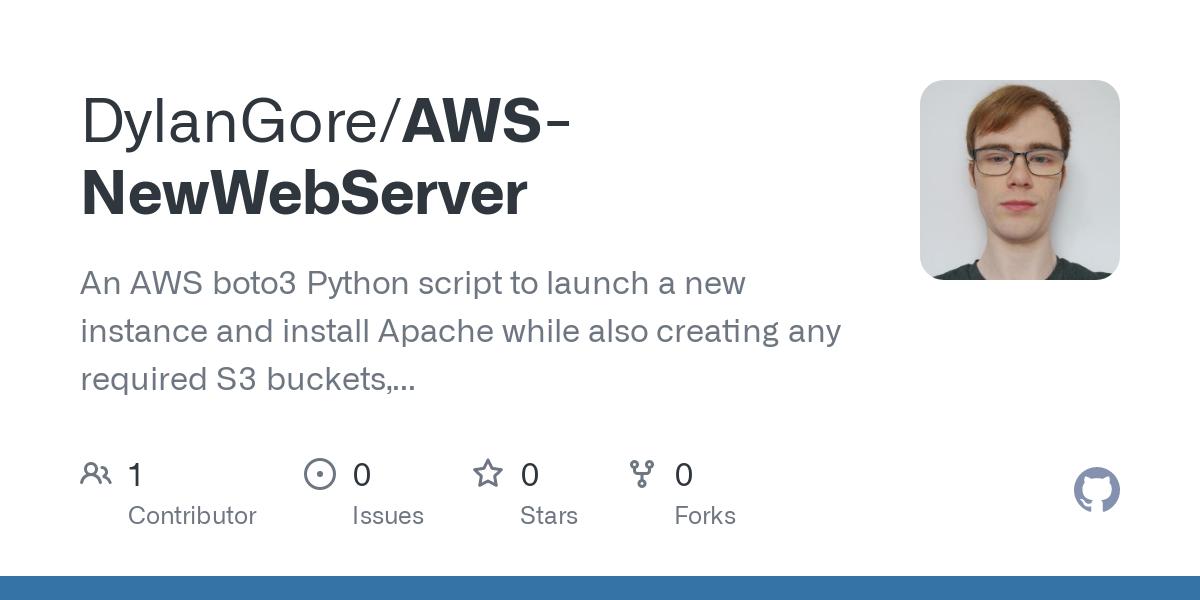 AWS-NewWebServer